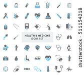 blue and gray health and... | Shutterstock .eps vector #511154218