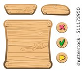 wooden assets for game....
