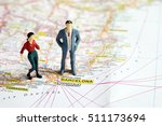 selective focus of miniature... | Shutterstock . vector #511173694