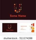 creative letter u design vector ... | Shutterstock .eps vector #511174288