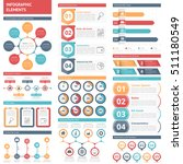 infographic elements   circle...   Shutterstock .eps vector #511180549
