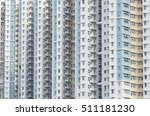 highrise residential building... | Shutterstock . vector #511181230