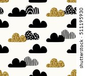 seamless repeating pattern with ... | Shutterstock .eps vector #511195930