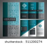 brochure vector design  flyer... | Shutterstock .eps vector #511200274