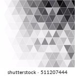 black grid mosaic background ... | Shutterstock .eps vector #511207444