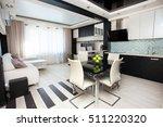 interior kitchen. modern... | Shutterstock . vector #511220320
