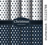 christmas pattern. merry... | Shutterstock .eps vector #511223788