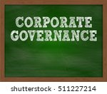 corporate governance... | Shutterstock . vector #511227214