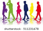 group of people. crowd of... | Shutterstock .eps vector #511231678