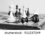 chess photographed on a...   Shutterstock . vector #511237249