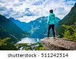 geiranger fjord  beautiful... | Shutterstock . vector #511242514