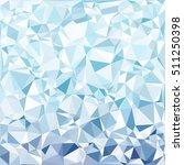 blue polygonal mosaic... | Shutterstock .eps vector #511250398