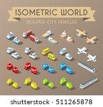 isometric world. set of... | Shutterstock .eps vector #511265878