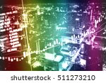 data analyzing in trading... | Shutterstock . vector #511273210