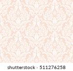 vector damask seamless pattern... | Shutterstock .eps vector #511276258