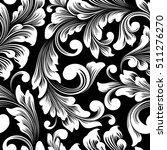 vector damask seamless pattern... | Shutterstock .eps vector #511276270