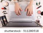 fashion blogger concept   woman ... | Shutterstock . vector #511280518