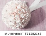 wedding bouquet of roses | Shutterstock . vector #511282168