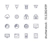 finance icons | Shutterstock .eps vector #511282459