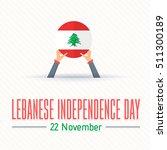 22 november lebanese... | Shutterstock .eps vector #511300189