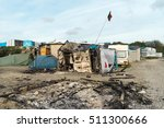 calais  france   october 27 ... | Shutterstock . vector #511300666