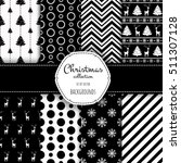 collection of seamless patterns ... | Shutterstock .eps vector #511307128