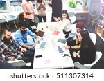 students of graduate business... | Shutterstock . vector #511307314