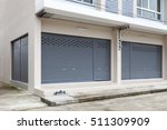 shutter door or roller door and ... | Shutterstock . vector #511309909