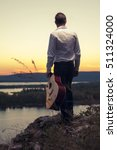 male guitarist in smart casual... | Shutterstock . vector #511324000