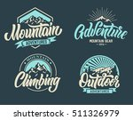 mountain climbing adventure... | Shutterstock .eps vector #511326979