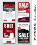 set of vertical web banners for ... | Shutterstock .eps vector #511328620