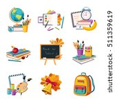 school and eduction related...   Shutterstock .eps vector #511359619
