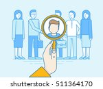 vector illustration in modern... | Shutterstock .eps vector #511364170