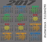 background texture. calendar... | Shutterstock .eps vector #511364290