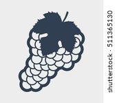 grape icon | Shutterstock .eps vector #511365130