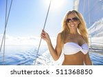 a beautiful young woman in a... | Shutterstock . vector #511368850