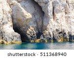 blue sea caves on zakynthos...   Shutterstock . vector #511368940
