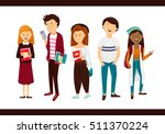 youth  student  education ... | Shutterstock .eps vector #511370224
