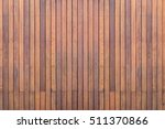 Old Exterior Wooden Decking Or...