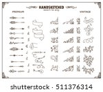 vector large collection of... | Shutterstock .eps vector #511376314