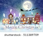 happy new year and merry...   Shutterstock .eps vector #511389709
