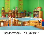 chairs  table and toys....   Shutterstock . vector #511391014