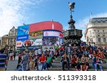 london  england   july 8  2016  ... | Shutterstock . vector #511393318