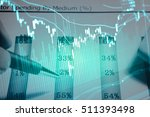 data analyzing in trading... | Shutterstock . vector #511393498