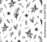vector seamless pattern with...   Shutterstock .eps vector #511397320