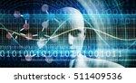 molecular diagnostics as a... | Shutterstock . vector #511409536