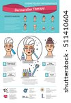 vector illustrated set with... | Shutterstock .eps vector #511410604