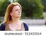 portrait of adult woman looking ... | Shutterstock . vector #511415314