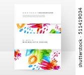 set of hand drawn universal... | Shutterstock .eps vector #511419034