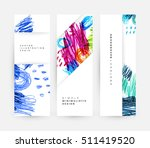set of hand drawn universal... | Shutterstock .eps vector #511419520